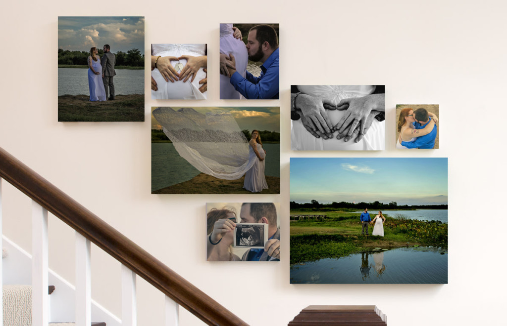 Stephanie April Photography Wall Cluster Display - Dallas Fine Art Photography