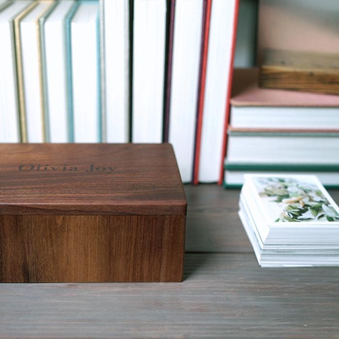Keepsake photo box
