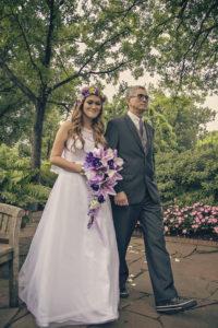 Nigeyln+Steven Dallas Arboretum wedding