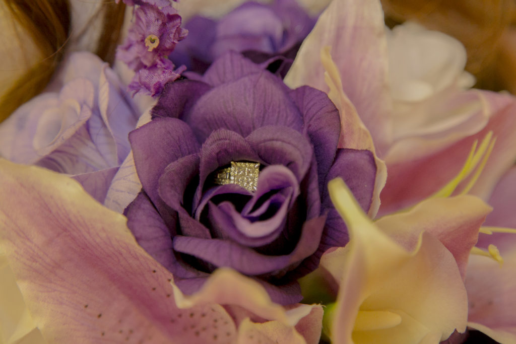 Forney Wedding Photographer - Ring and Bouquet