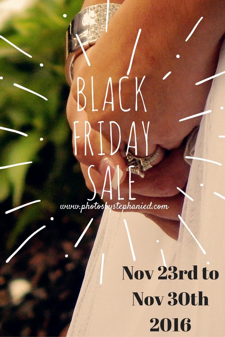 black friday deals photos by stephanie forney wedding photographer